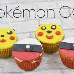 Pokémon GO Muffins mit Fondant