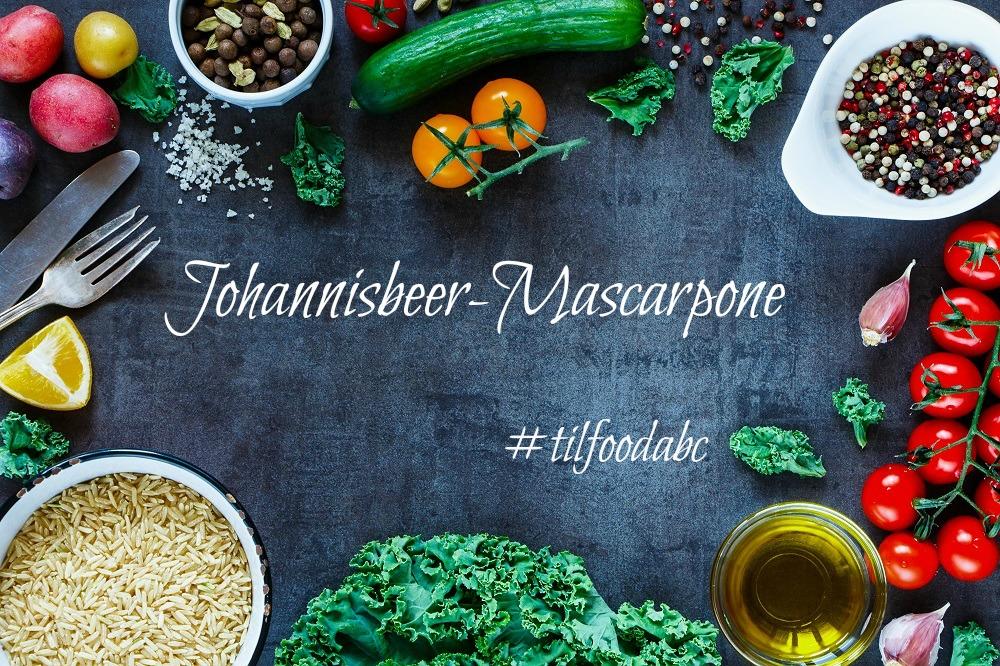 Food ABC: J – Johannisbeer- Mascarpone mit Baiser und Schokolade