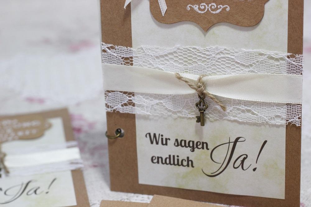außergewöhnliche Hochzeitseinladungen