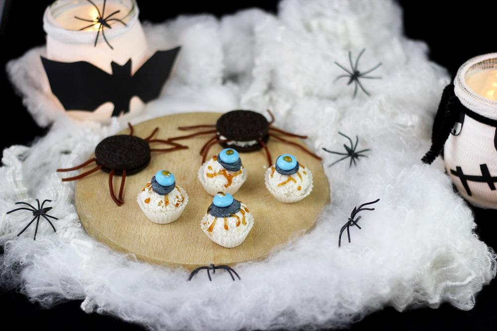 suesse-halloweensnacks-augen|Halloweensnacks Augen| Blutige Augen Halloween