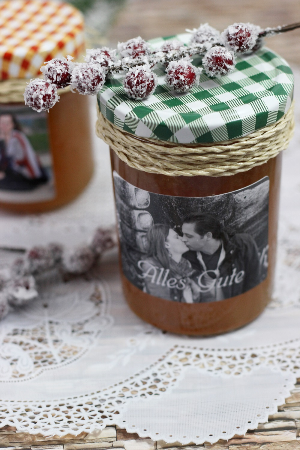 Winterliche Marmelade mit Zimt| Alternativen Gelierzucker
