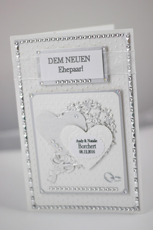 DIY Hochzeitskarte