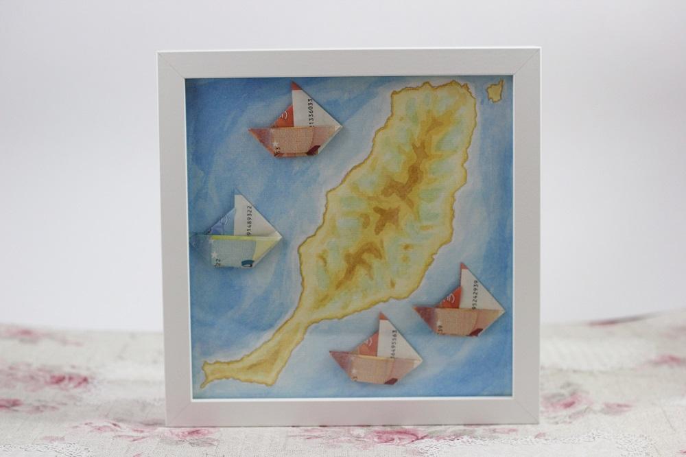 Origami Schiffe faltem