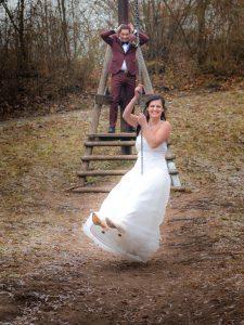 Lustige Hochzeitsbilder| Winterwedding| Ideen lustige Hochzeitsbilder