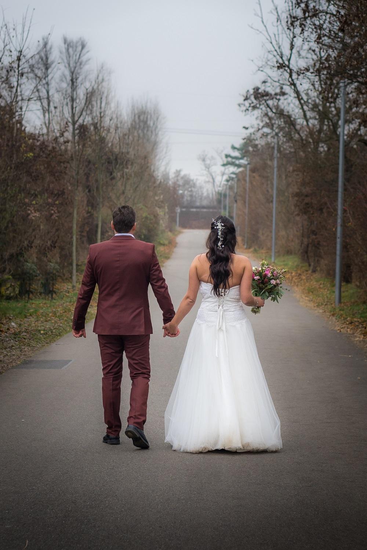 Was zieht eine Braut im Winter an