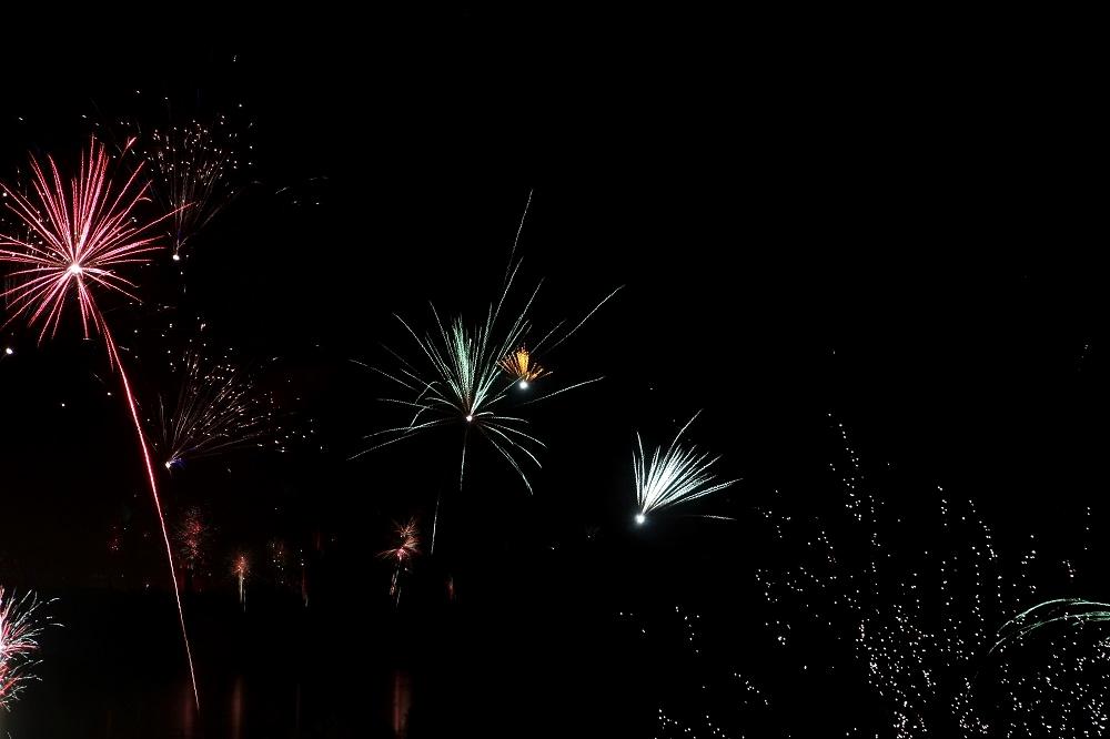 Einstellungen Feuerwerk fotografieren - Langzeitbelichtung