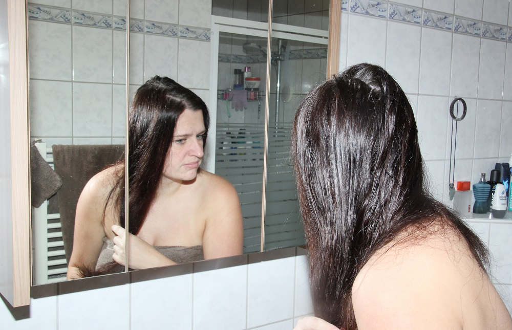 Kokosöl für die Haare - Anwendung