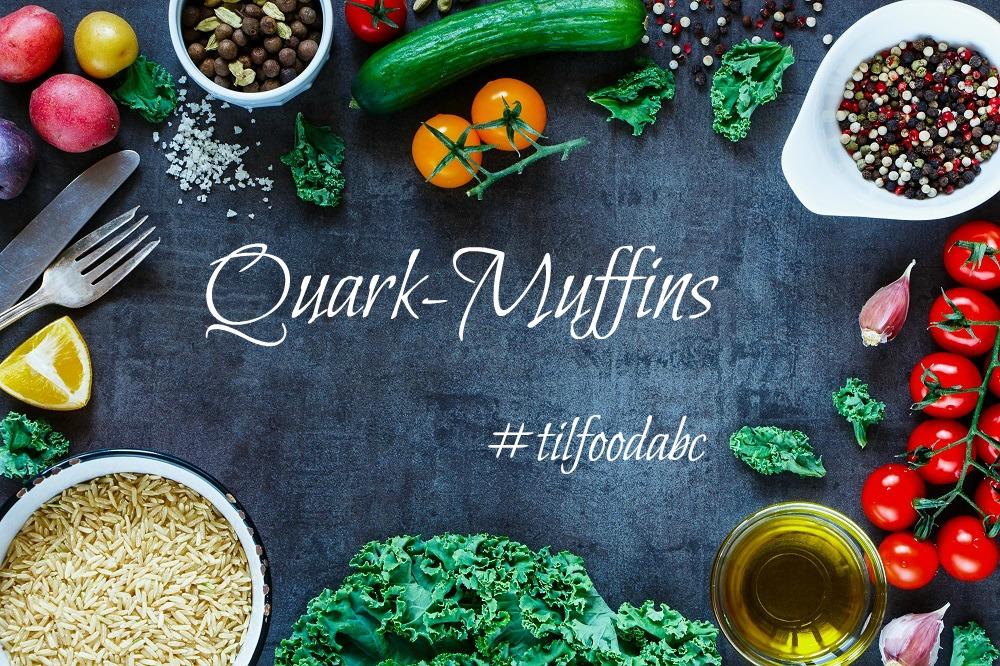Rezept Quark Muffins| Zubereitung Muffins mit Quark| Muffins ohne Butter
