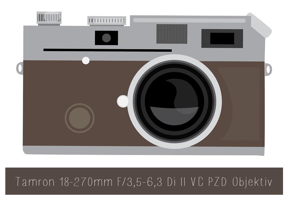 Tamron 18-270mm F3,5-6,3 Di II VC PZD Objektiv
