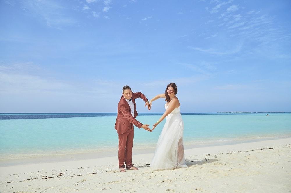 Unsere Strandhochzeit Auf Den Malediven The Inspiring Life