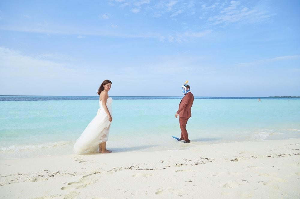 Hochzeitsshooting Malediven
