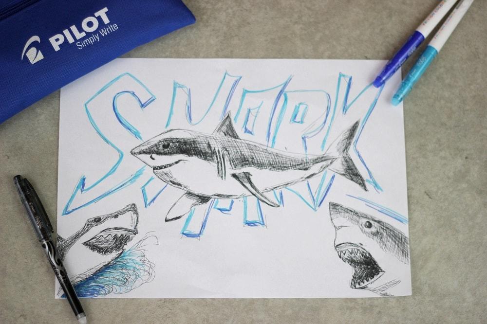 Riffhaie gefährlich