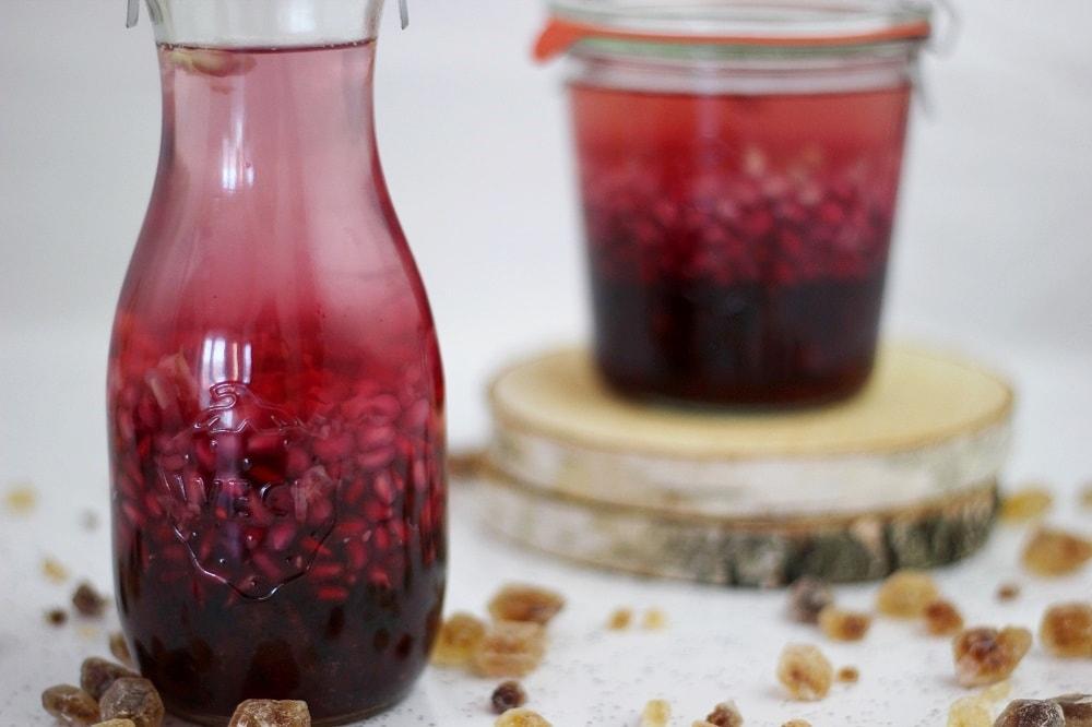 rezept granatapfellik r mit vanillle und wodka the. Black Bedroom Furniture Sets. Home Design Ideas