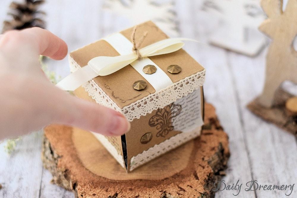 Explosionsbox Geschenkverpackung