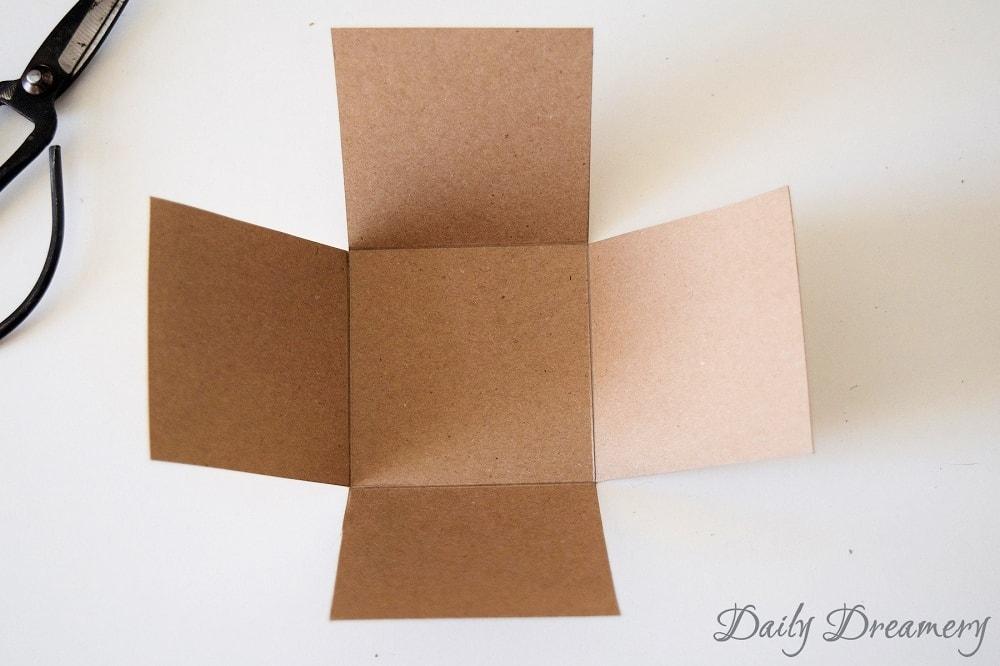 DIY Gutscheinverpackung