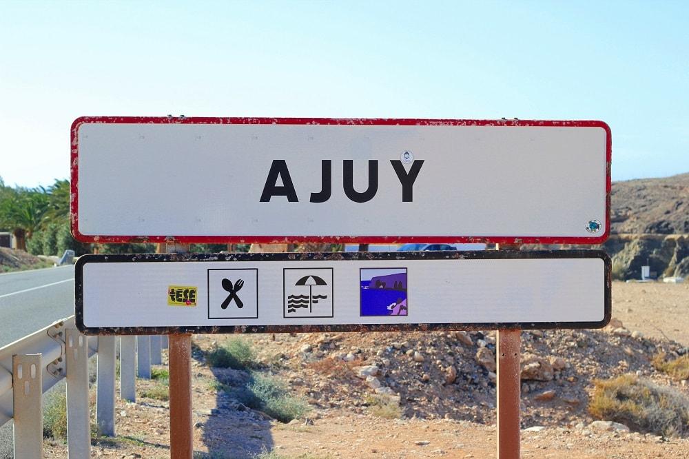 Ajuy Ausflug