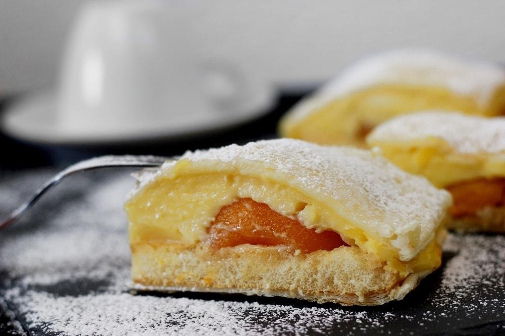 Blatterteigkuchen Mit Vanillepudding The Inspiring Life