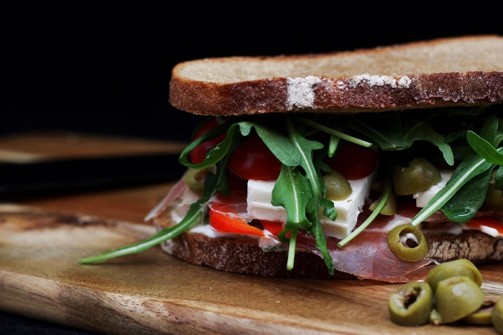 Griechisches Sandwich