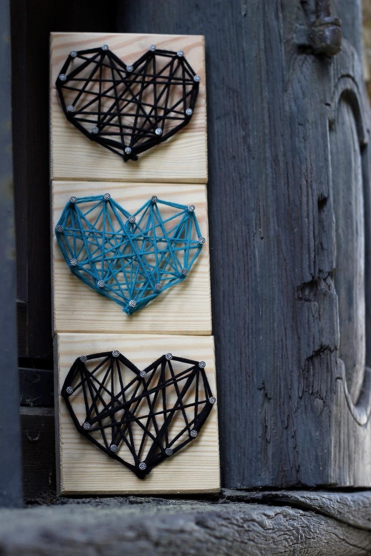 String Art Herz