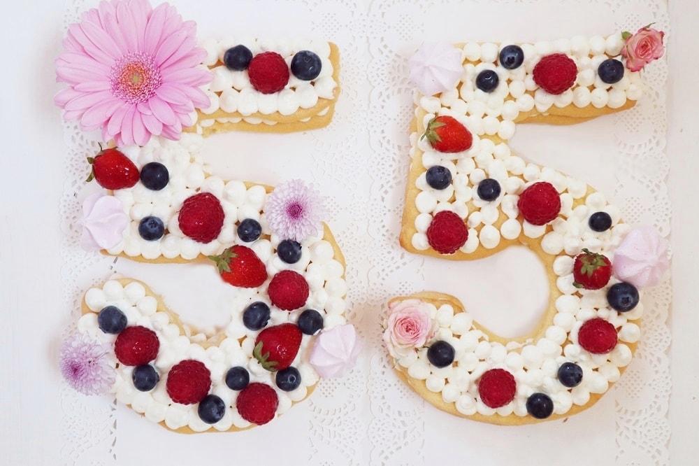 Number Cake Trendcake 2018