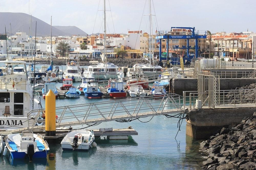 Corralejo Hafen