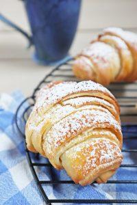 Süße Croissants Grundrezept