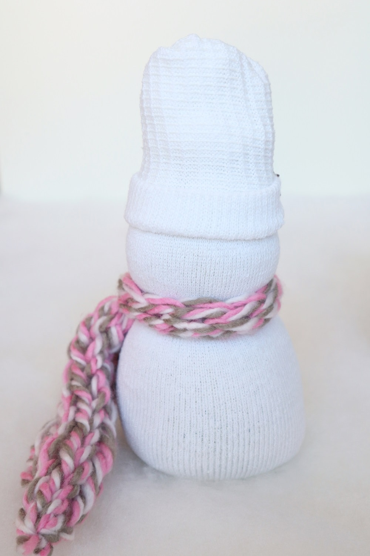 Basteln mit Socken Weihnachten