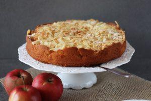 Apfel-Mandel Kuchen
