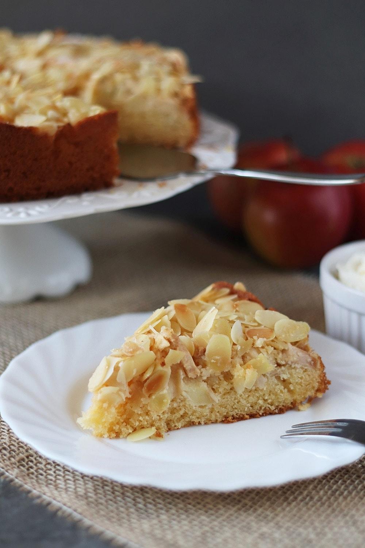 Rezept Butter Mandel Apfelkuchen