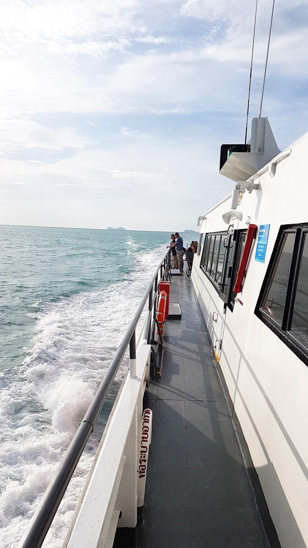 Verkehrsmittel Thailand Inselhopping