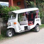 Verkehrsmittel Thailand TukTuk