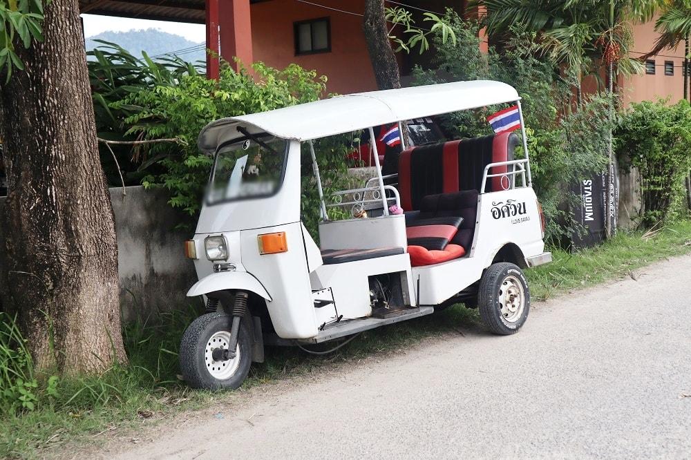 Verkehrsmittel Thailand- Wie komme ich von A nach B