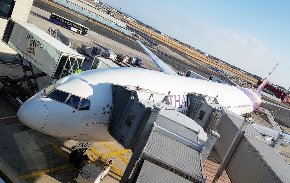 Direktflug von Deutschland nach Thailand