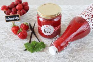 Erdbeersoße