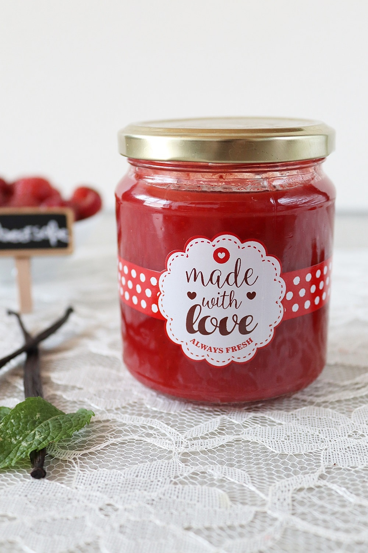 Erdbeersoße Rezept