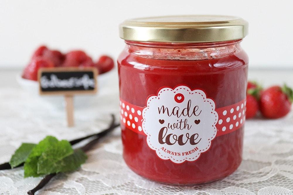 Erdbeersoße selber machen