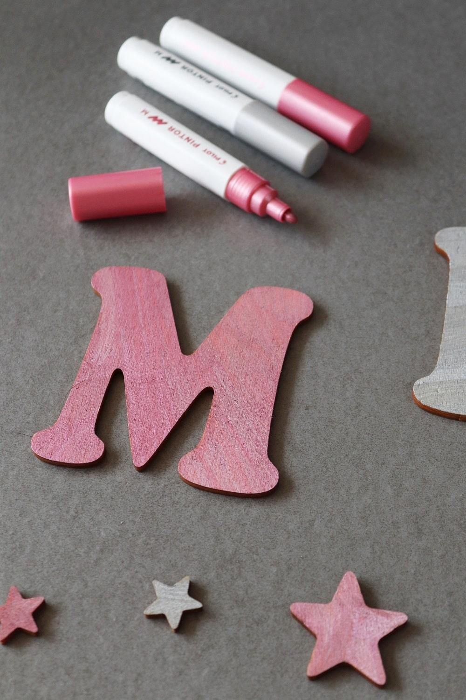 Holzbuchstaben selbst gestalten