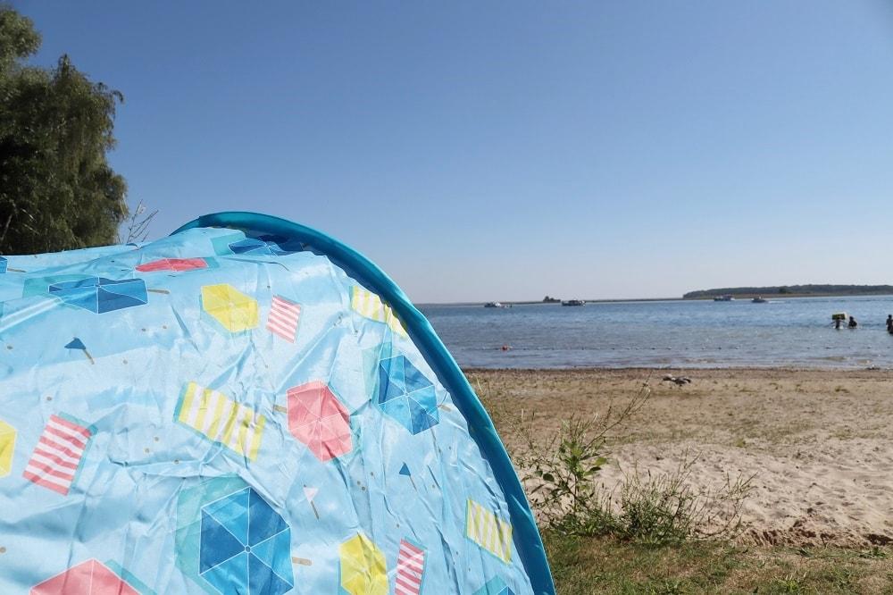 Wurfzelt für Babys - Strandzelt