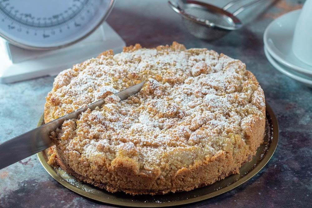 Haselnusskuchen-Streusel