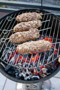 Kebab grillen