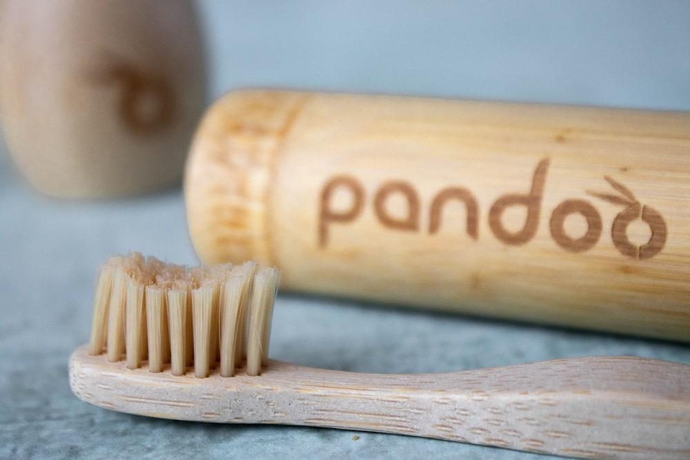 pandoo Bambus-Zahnbürste