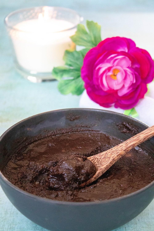 DIY Schokoladen Peeling