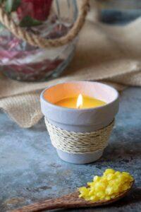 Citronella- Kerze selber machen