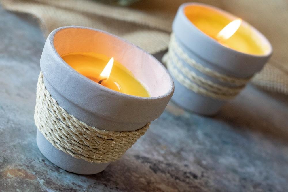 DIY Anti-Mücken-Kerzen
