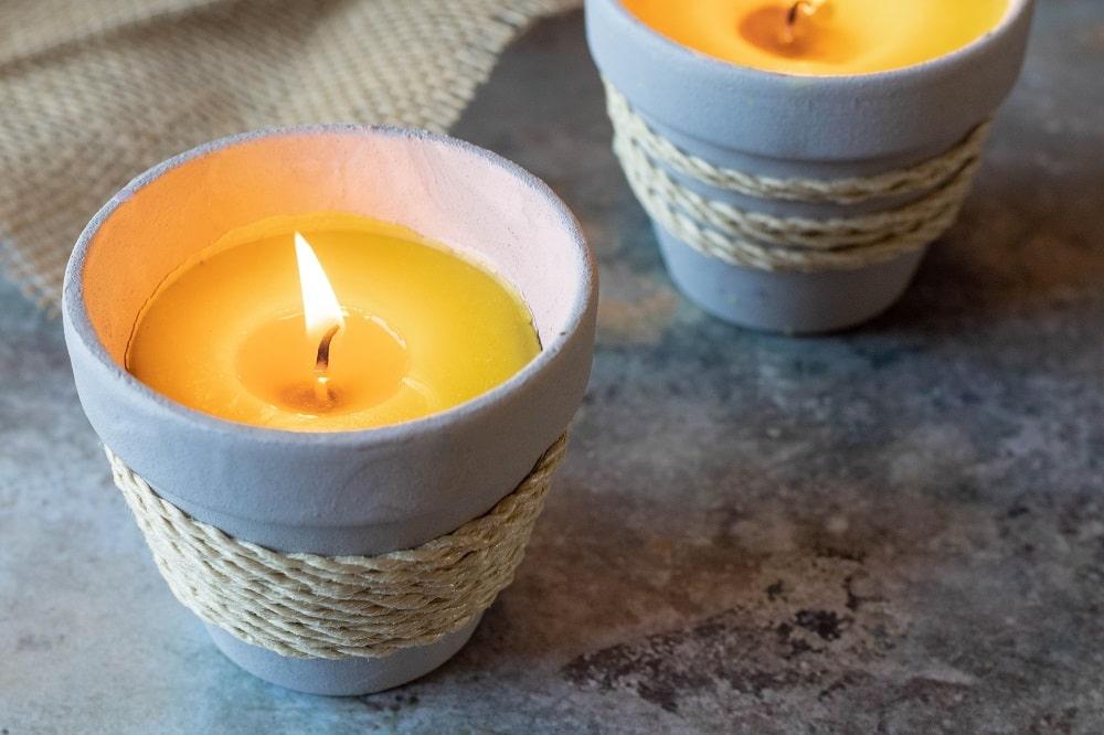 Kerzen aus Bienenwachs selber machen