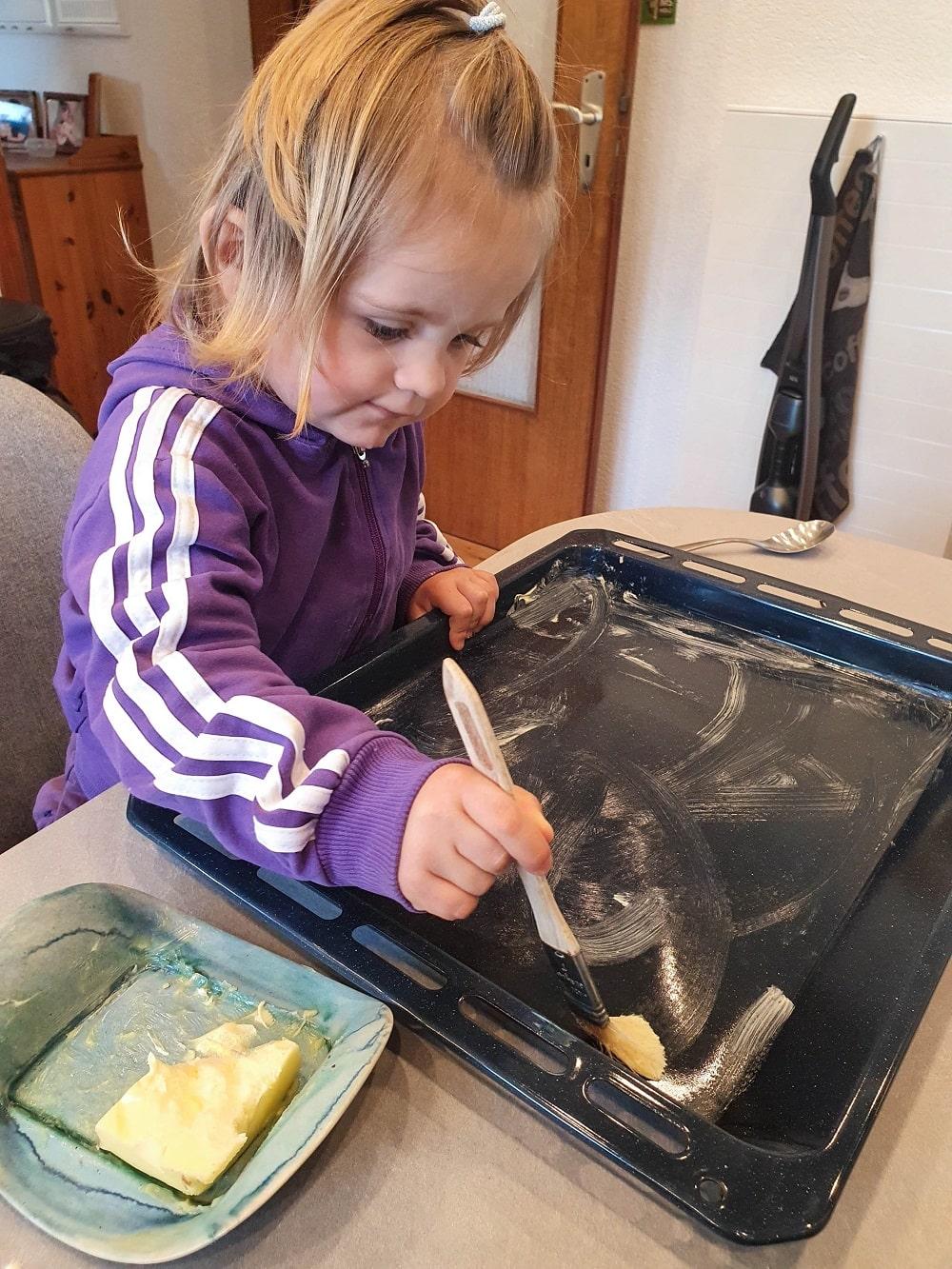 Kochen und backen mit Kindern