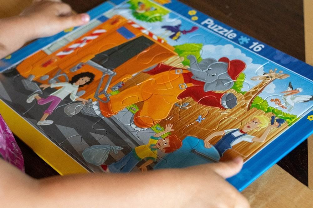 Puzzle für Kleinkinder