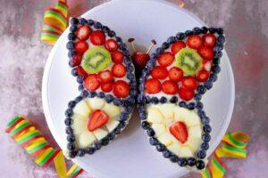 Rezept Schmetterlingskuchen