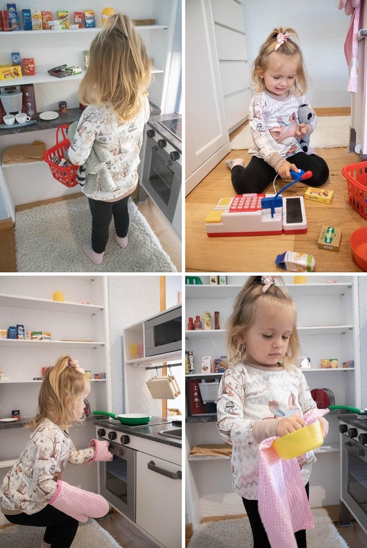 Kinderküche und Kaufladen in einem