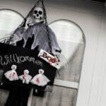 Halloween-Türschild